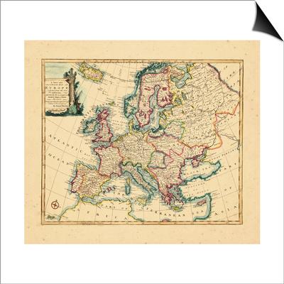 1752, Europe Art