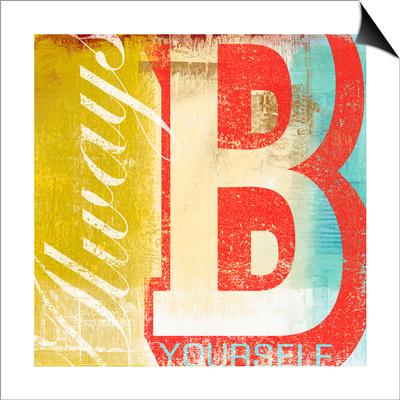 b Print by Cory Steffen