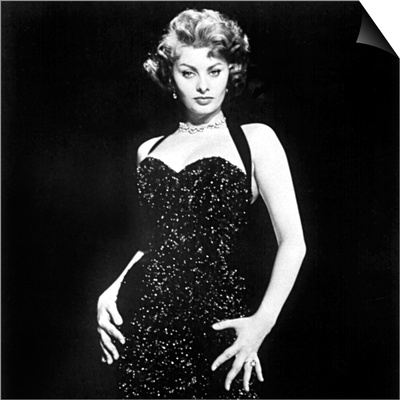 Publicity Shot of Sophia Loren Used to Promote Pride and the Passion, 1957 Art