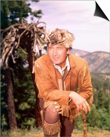 Fess Parker – Daniel Boone Posters