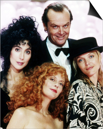 Jack Nicholson, The Witches of Eastwick (1987) Art