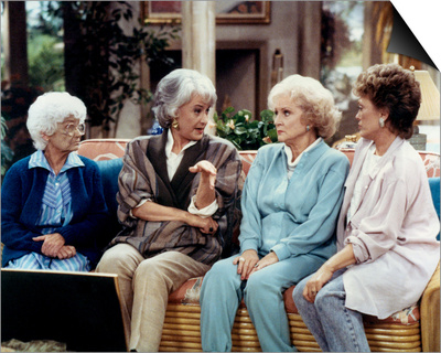 The Golden Girls Art