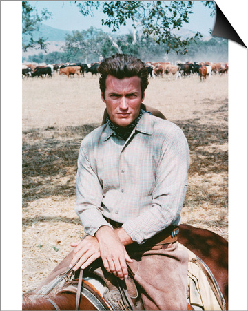 Clint Eastwood - Rawhide Posters