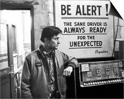 Robert De Niro, Taxi Driver (1976) Print