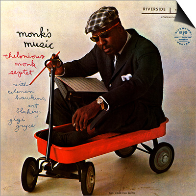 Thelonious Monk - Monk's Music Posters by Paul Bacon