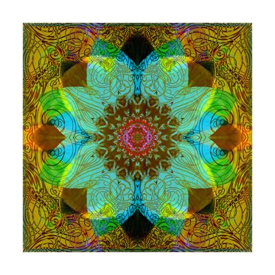 Color Harmony Mandala Posters by Alaya Gadeh