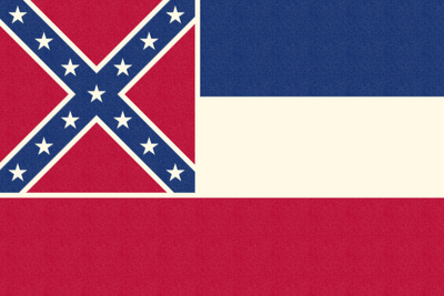Mississippi State Flag Posters by  Lantern Press
