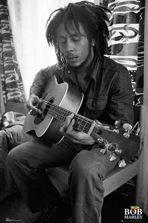 Bob Marley - Guitar Print
