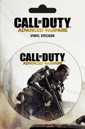 Call of Duty AW - Cover Vinyl Sticker Sticker