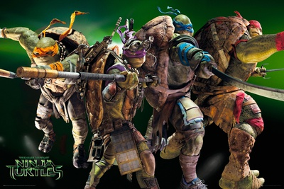 Teenage Mutant Ninja Turtles – Movie Posters