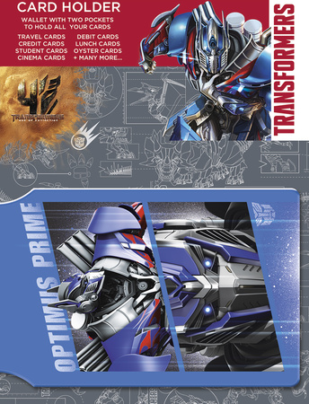 Transformers 4 - Optimus Prime Card Holder Aparte producten