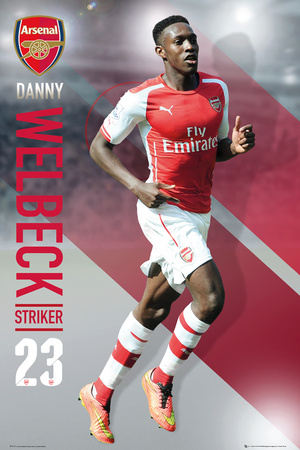 Arsenal - Wellbeck 14/15 Posters