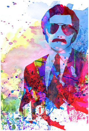 Anchorman Watercolor Posters by Anna Malkin