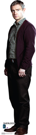 BBC's Sherlock - Dr. John Watson Martin Freeman Lifesize Standup Cardboard Cutouts