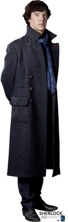 BBC's Sherlock - Sherlock Holmes Benedict Cumberbatch Lifesize Standup Cardboard Cutouts