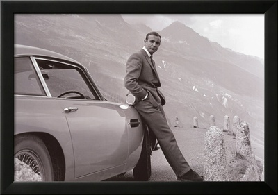 James Bond - Aston Martin Kunstdrucke