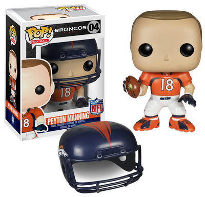 Peyton Manning NFL football bobblehead as an office fun desk toy gift