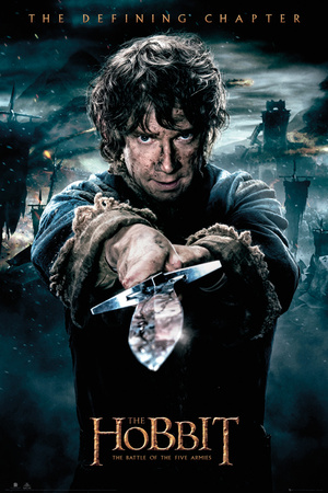 The Hobbit - Battle of Five Armies Bilbo Posters
