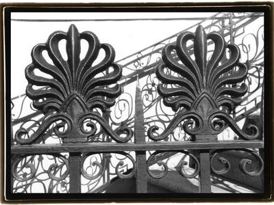 Wrought Iron Elegance I Photographic Print by Laura Denardo