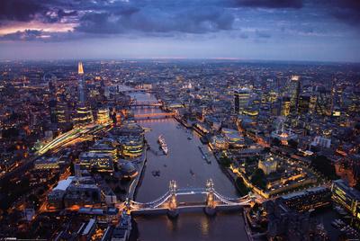 Jason Hawkes - London Affischer av Jason Hawkes