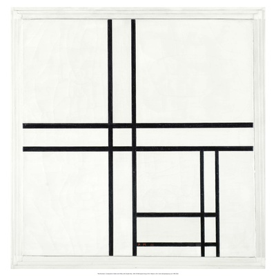 Composition in Black and White, with Double lines, 1934 Prints by Piet Mondrian
