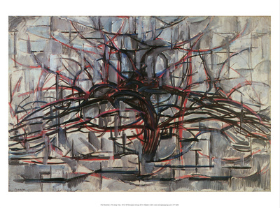 The Gray Tree, 1912 Prints by Piet Mondrian