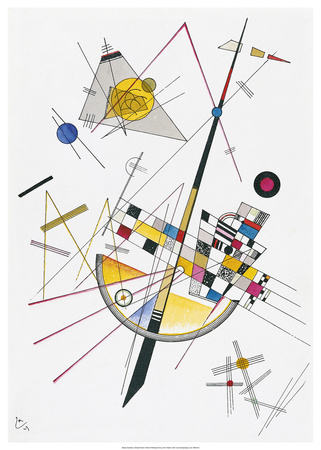 Delicate Tension (1923) Prints by Wassily Kandinsky