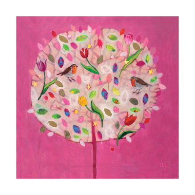 Happy Tree Giclee Print by Andrea Letterie