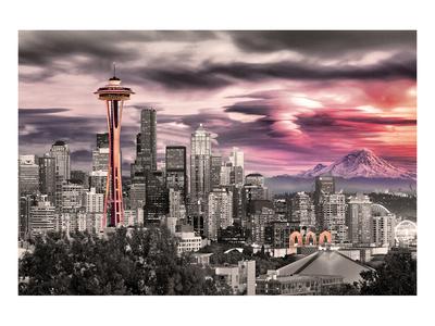 Seattle - Space Needle Art