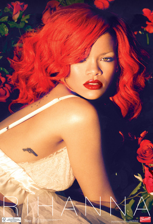 Rihanna Roses Music Poster Photo