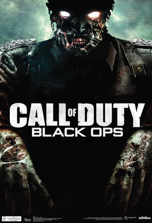 Call Of Duty Black Ops Zombie Video Game Poster Posters
