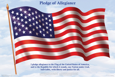 Pledge Of Allegiance Prints