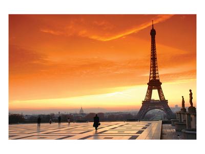 Paris at Dawn Posters