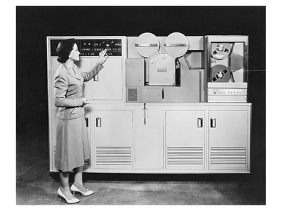 1950's Computer Láminas