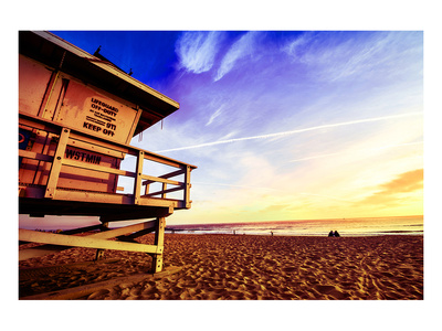 Venice Beach Lifeguard Stand Prints
