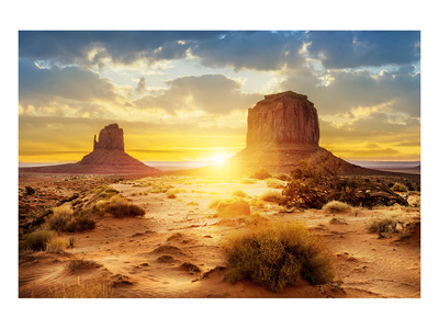 The Sisters Monument Valley Print