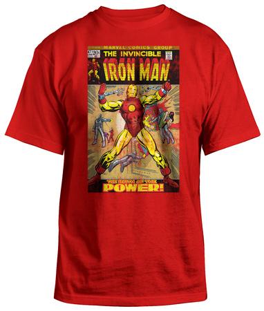 Iron Man - Invincible Iron Man T-Shirt