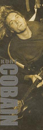 Kurt Cobain - Brown Photo