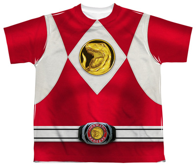 Youth: Power Rangers - Red Ranger Emblem T-shirts