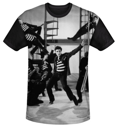 Youth: Elvis Presley - Jubilant Felons(black back) Shirt