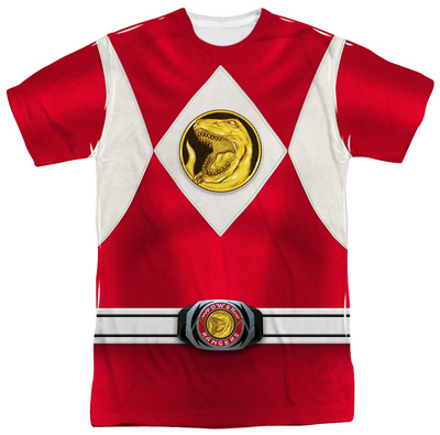Power Rangers - Red Ranger Emblem Sublimated
