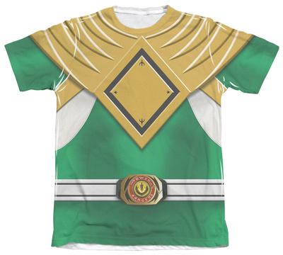 Power Rangers - Green Ranger Sublimated