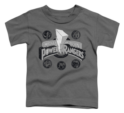 Toddler: Power Rangers - Power Coins T-shirts
