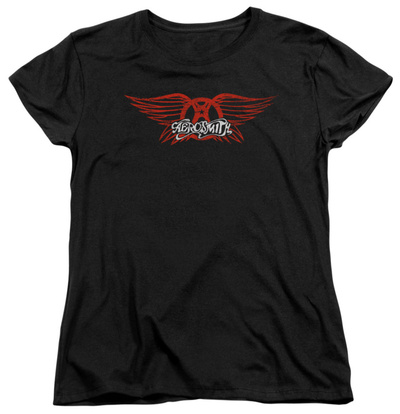 Womens: Aerosmith - Winged Logo T-Shirt