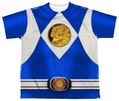 Youth: Power Rangers - Blue Ranger Emblem T-Shirt