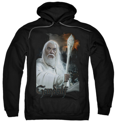 Hoodie: The Lord of the Rings: The Return of the King - Gandalf Pullover Hoodie