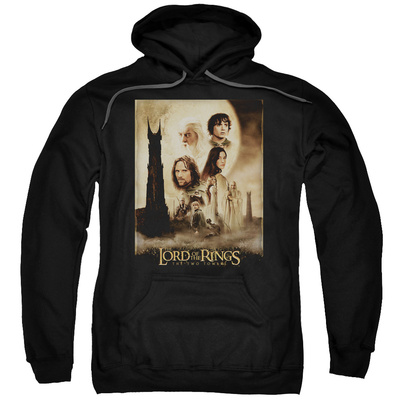 Hoodie: The Lord of the Rings: The Two Towers - Two Towers Poster Pullover Hoodie
