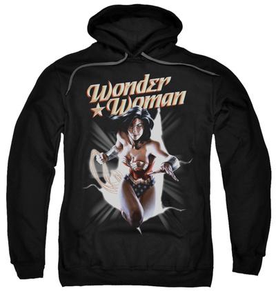 Hoodie: Wonder Woman - WW Break Out Pullover Hoodie