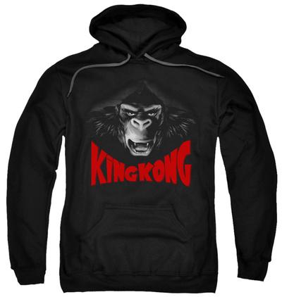 Hoodie: King Kong - Kong Face Pullover Hoodie