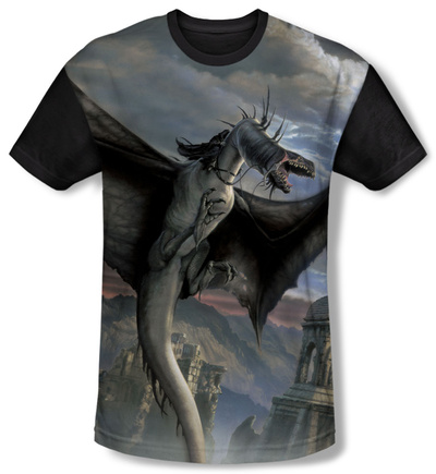 Youth: The Lord Of The Rings: The Return Of The King - Fellbeast(black back) T-Shirt